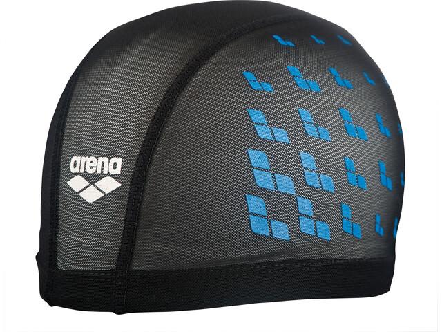 arena Power Mesh Cap black-turquoise